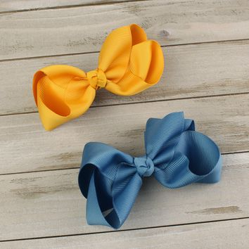 Medium Twisted Boutique Hair-Bow