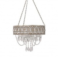 Wake Up Frankie - 5 Tealight Beaded Chandelier : Teen Bedding, Pink Bedding, Dorm Bedding, Teen Comforters