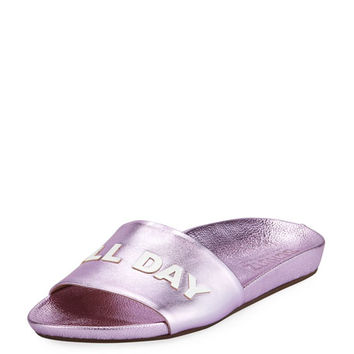 Schutz Rose All Day Slide Sandal