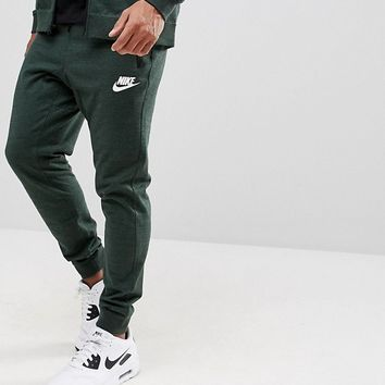 Nike Advance Knit Joggers In Green 918322-332 at asos.com
