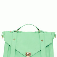 Style For Miles Mint Green Handbag