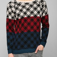 Geo Stripe Sweater - Urban Outfitters