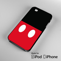 Mickey Mouse Disney A0692 iPhone 4S 5S 5C 6 6Plus, iPod 4 5, LG G2 G3, Sony Z2 Case