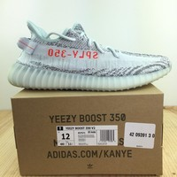 Adidas Yeezy Boost 350 V2 Size 12 Blue Tint Mens Sneaker Shoes - Ready Stock