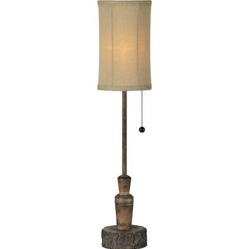 Country Lodge Buffet Table Lamp | 28-in