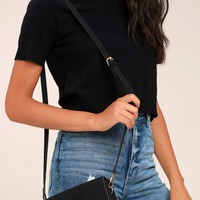Sweet and Petite Black Purse