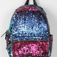 Colorful Sequin Mini Backpack