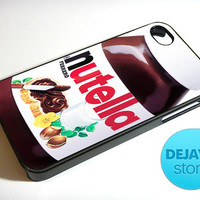 Nutella Chocolate Peanut Butter iPhone 4 / 4S Case