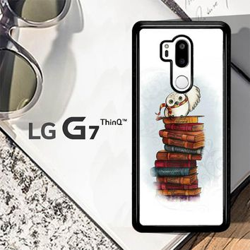 Hedwig Harry Potter Owl X4756 LG G7 ThinQ Case