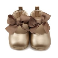 PU Princess Prewalker  Baby Shoes