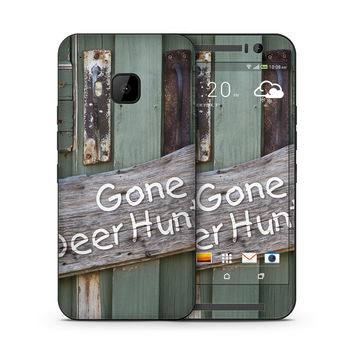 Gone Deer Hunting Sign Skin for the HTC