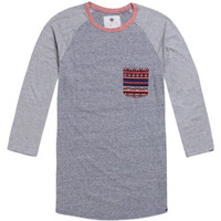 On The Byas Misty Printed Pocket Baseball Tee at PacSun.com