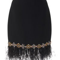 Embroidered Pencil Skirt | Moda Operandi