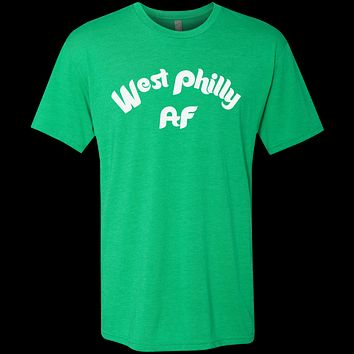 West Philly AF Men's Triblend T-Shirt