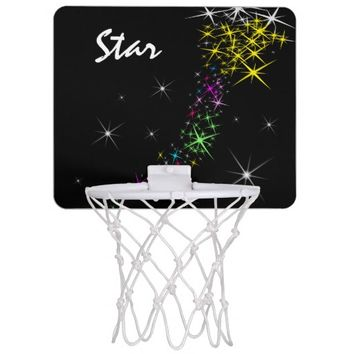 Christmas Star Mini Basketball Hoop