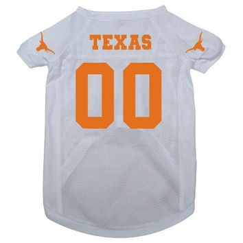 Texas Longhorns NCAA Mesh Pet Jersey (Large)
