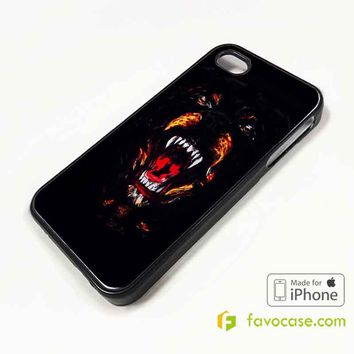 GIVENCHY ROTTWEILER Dog Head iPhone 4/4S 5/5S/SE 5C 6/6S 7 8 Plus X Case Cover