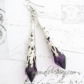 Vampire Tear Earrings
