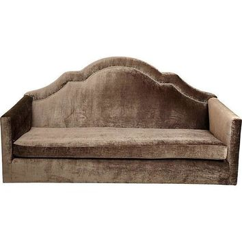 Pre-owned Demilune High Back Hawthorne Sofa