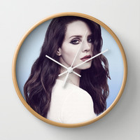 DEL REY LANA Wall Clock by Hands in the Sky