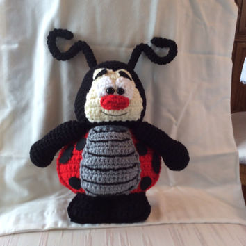 Shop Crochet Ladybug Pattern On Wanelo
