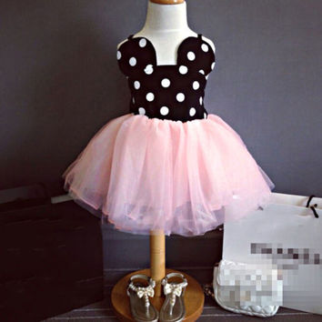 0-5Y-Minnie-Mouse-Baby-Kid-Girls-Princess-Clothes-Cartoon-Party-Skirt-Mini-Dress