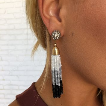 Take Me to the Ball Bead Earrings