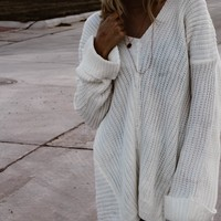 TBW: MAKE YOU MINE SWEATER (IVORY)