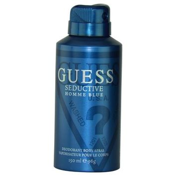 Guess Seductive Homme Blue By Guess Body Spray 5 Oz