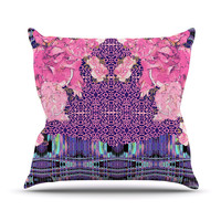 "Nina May ""Lepparo"" Throw Pillow"