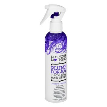 Not Your Mother's Plump for Joy Thickening Hair Lifter for FineThin Hair, 8 Oz - Walmart.com