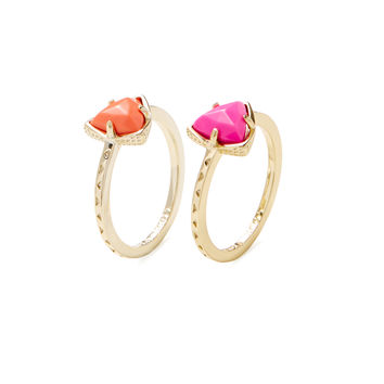 Ann Stackable Rings Set