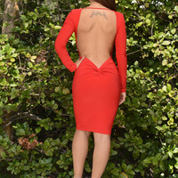 Beverly Dress - Red