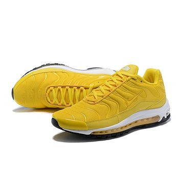 NIKE AIR MAX 97 PLUS Air cushion leisure running shoes