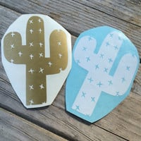 Cactus Vinyl Decal, Vinyl Stickers, Laptop Decal, Car Sticker, Laptop Sticker, Car Decal, Desert Sticker