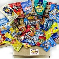 Sweet & Salty College Care Package With Snack Gifts   Best Christmas Gift For College Student And Thinking of You Gift Care Package