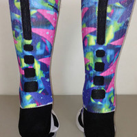 Custom Bel Air Nike Elite Socks