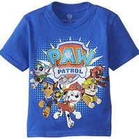 Nickelodeon Little Boys' Paw Patrol Group Tee, Royal, 3T
