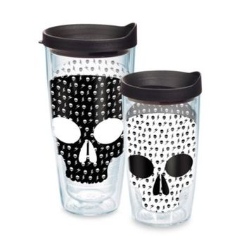 Tervis® Skull Wrap Tumbler in Black/White with Lid