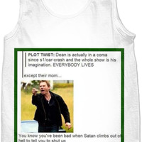 Supernatural Lucifer Meme Tank Top