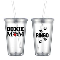 Doxie Mom Double Wall Tumbler - Free Shipping
