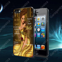 Princess Belle Magazine For iPhone 4 / 4S / 5/ 5S/ 5C, Samsung Galaxy S2 / S3/ S4 case
