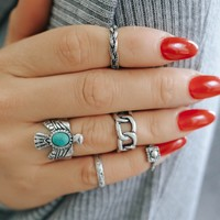 Wild and Free Ring Set