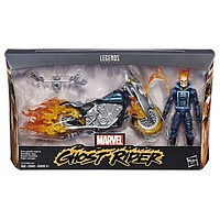 Ghost Rider with Flame Cycle Marvel Legends 6-Inch Action Figure