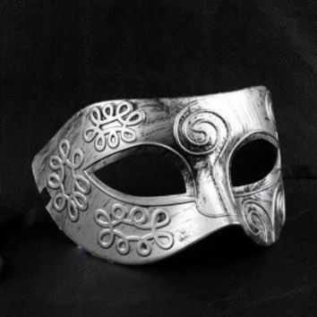 Shot-in Retro Roman gladiator Halloween party masks man woman children Masquerade mask