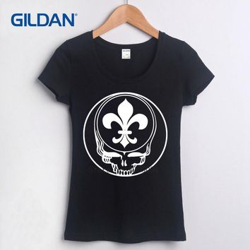 Blank Tee Shirt 2017 Steal Your Face New Orleans Grateful Saints Dead Lot Footballer As T Shirt Where To Buy T-Shirt Cotton