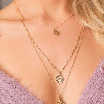 Treasure Me Gold Layered Necklace