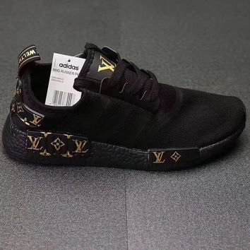 Adidas NMD x LV Louis Vuitton Fashion Trending Leisure Running Sports Shoes