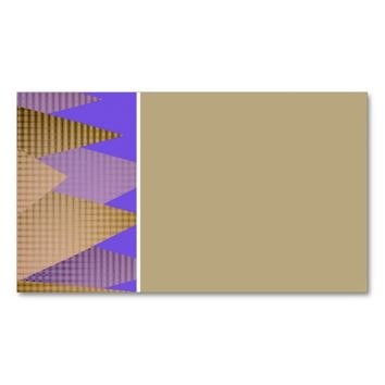 personal business card template abstract design