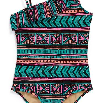 Milly Minis One-Piece Swimsuit (Toddler Girls, Little Girls
